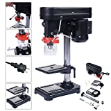 Costway Rotary Pillar Drill Press Bench Top Mounted Drilling Five...