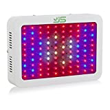 JS 1000W LED Grow Light Full Spectrum,Dual Chips Plant Lamp with UV&IR Red Blue Light for Indoor Hydroponic Greenhouse Leafy Vegetable Flower Growth (US Plug)