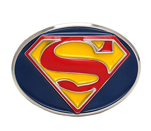 Change Western Cowboy Men Belt Buckle Superman Strap Buckle - Superman Fashion Belt