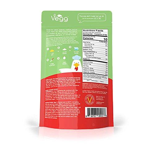 The Vegg - Vegan Egg Baking Mix - 4.2 Oz (34 Eggs)