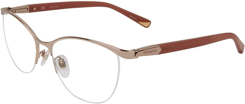 Eyeglasses Nina Ricci VNR 078 Shiny Rose Gold 301