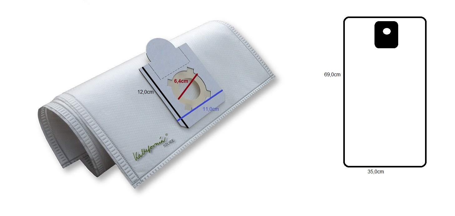4 Fein filtro de polvo Bolsas Kallefornia K331 - Compatible ...