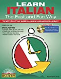 Learn Italian the Fast and Fun Way with MP3 CD (Barron s Fast and Fun Foreign Languages)