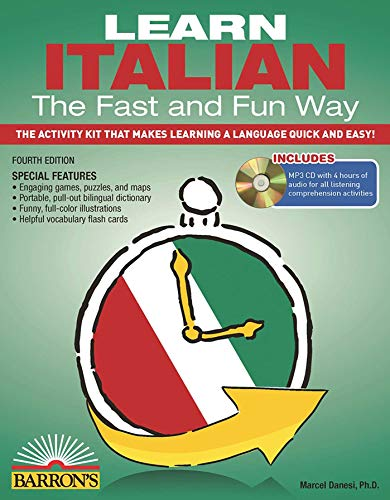 Learn Italian the Fast and Fun Way with MP3 CD (Barron's Fast and Fun Foreign Languages)