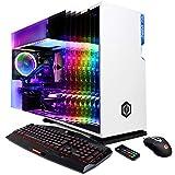 CyberpowerPC Gamer Supreme Liquid Cool SLC10400CPG Gaming PC (Intel Core i9-9900K 3.6GHz, 16GB DDR4, NVIDIA GeForce GTX 1660 Ti 6GB, 1TB SSD, 802.11AC WiFi, Win10 Home) White