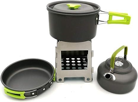 Utensilios de cocina del campamento Kit de utensilios de ...