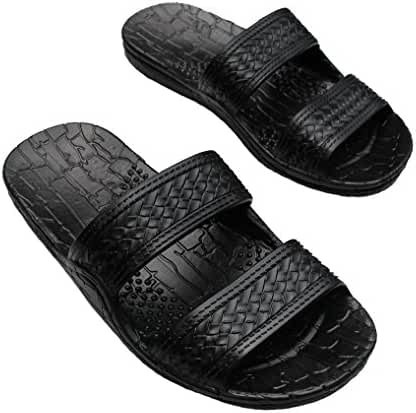 Hawaii Brown or Black Jesus sandal Slipper for Men Women and Teen Classic Style