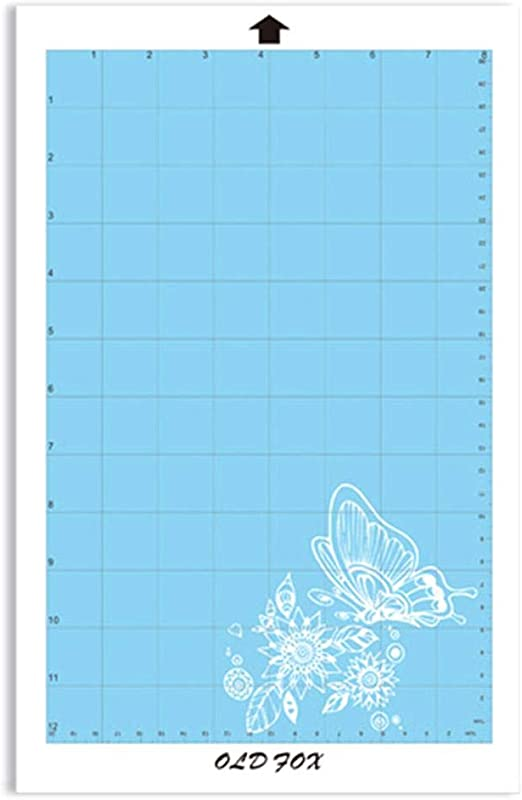 flower205 8x12 Alfombra De Corte De Repuesto Alfombrilla De Corte Se Pueden Reutilizar Materiales Adhesivos Especiales Móviles.: Amazon.es: Hogar