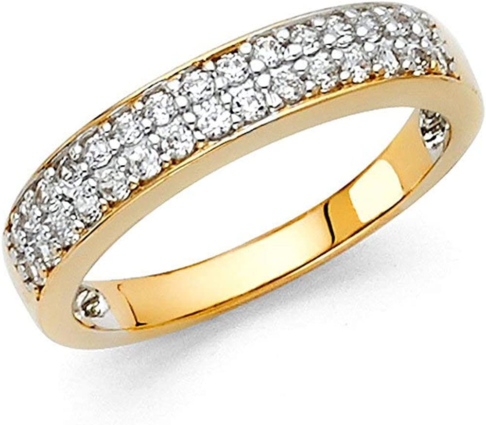 Details about  /Personalized Princess Simulated Gemstone Name Engraved Ring 14K Gold Over