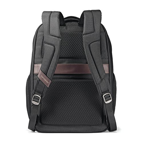 51mpl elr4L - Samsonite Large Backpack, Black/Brown, One Size