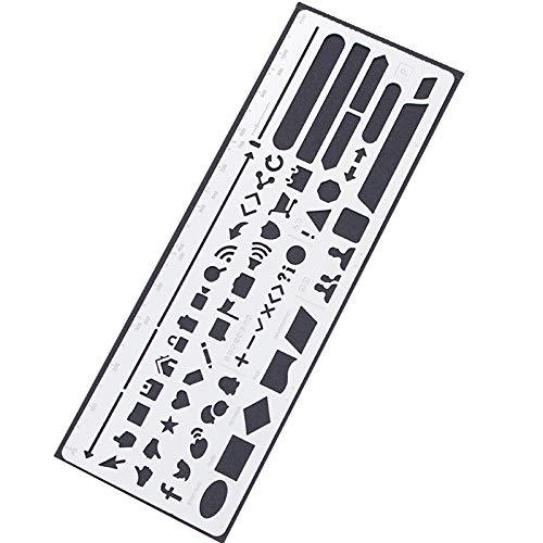 Web UI Template, JoyTong Drawing Planner Stainless Steel Stencil (Web UI)