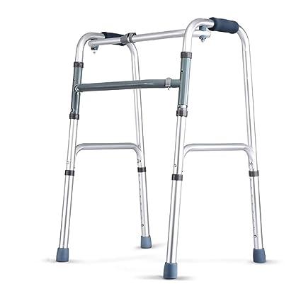 Yxsd Muletas con Ruedas para discapacitados Ancianos de Cuatro Patas Andadores de Brazos para Caminantes de