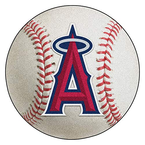 FANMATS MLB Los Angeles Angels Nylon Face Baseball Rug