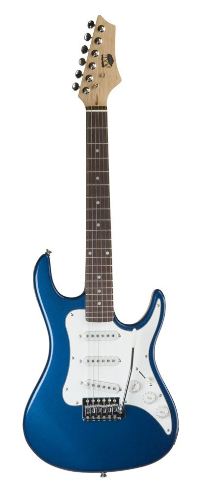 AXL Headliner Series エレキギター, 1/2 Sized, Blue エレキギター エレクトリックギター (並行輸入) B002KAOKTK