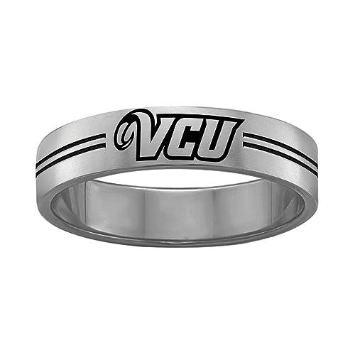 Amazon.com: Virginia Commonwealth VCU Rams College anillos ...