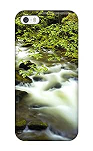 Case Cover Stream Earth Nature Stream/ Fashionable Case For Sam Sung Galaxy S5 Cover