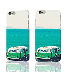 Parking Lot Photo Plastic Hard Customized Personalized 3D Case For iPhone 6 - 4.7 inches