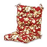 Greendale Home Fashions Indoor/Outdoor High Back Chair Cushion, Roma Floral