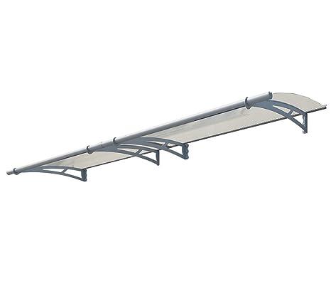 /Überdachung Aquila 3000 klar //// 300x92 cm BxT Regenschutz //// Pultvordach und T/ür/überdachung Palram Vordach