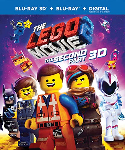 The Lego Movie 2: The Second Part 3D (Blu-ray 3D + Blu Ray + Digital) -  Rated PG, Mike Mitchell, Chris Pratt