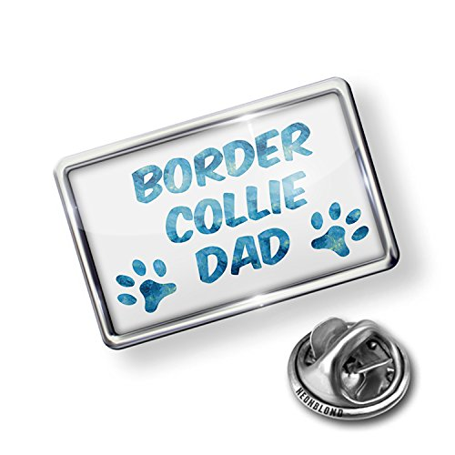 Pin Dog & Cat Dad Border Collie - NEONBLOND - Border Collie Pin