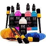 EZ Car Care : Alloy Wheel Cleaner Tyre + Rim Cleaning Spray + Brush Kit