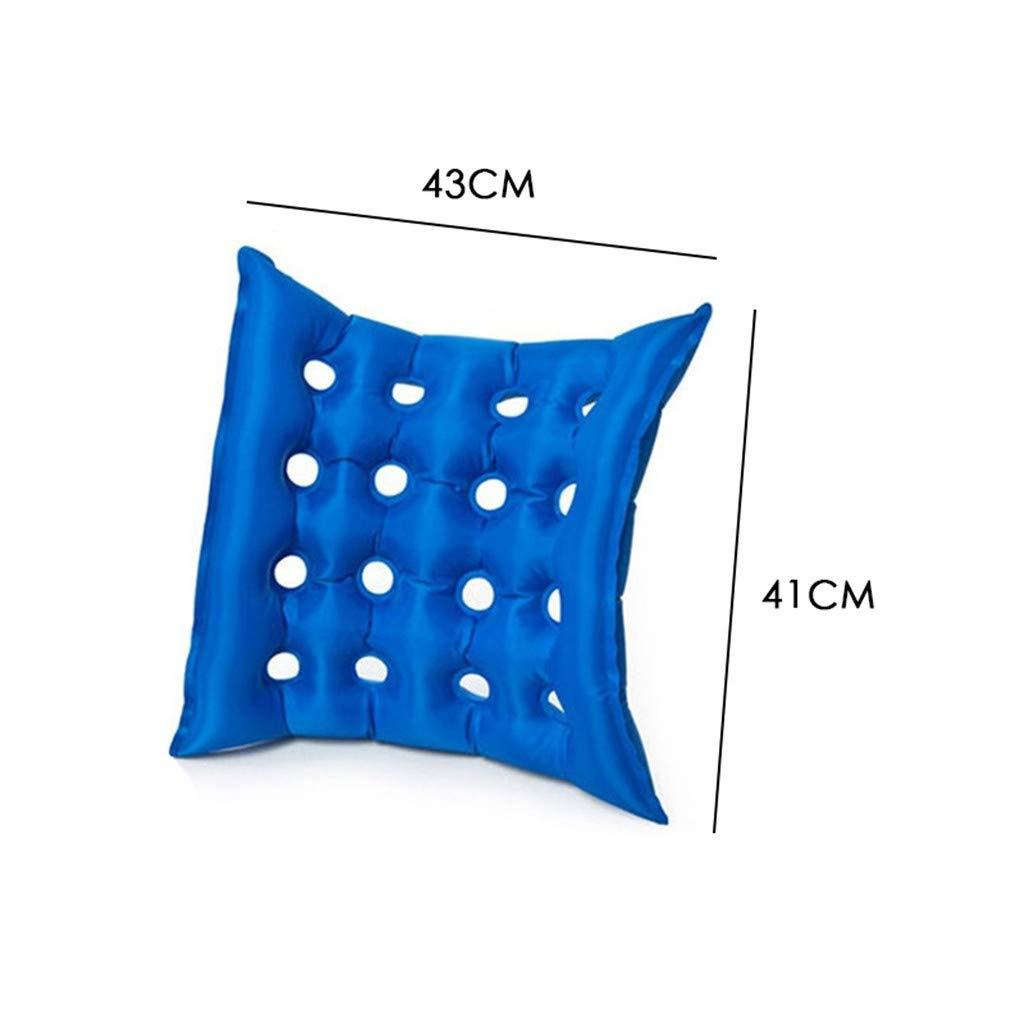 Air Inflatable Seat Cushion Office Car Wheelchair Square Cushions with Pump by SU/&YU