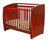 Dream On Me Electronic Wonder Crib, Cherry