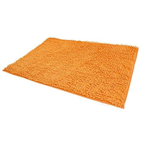 Orange Bath Rugs - 5