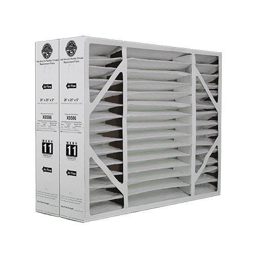 Lennox Model X0586 Air Cleaner Filter Media - BMAC-20C - 20 x 25 x 5