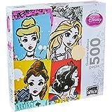 Quebra Cabeça 500 Peças Princesa Toyster Brinquedos