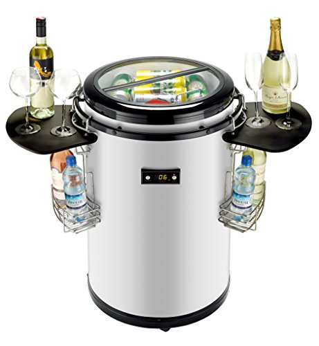 Igloo FRP245 Party Cooler, 120V, Stainless Steel