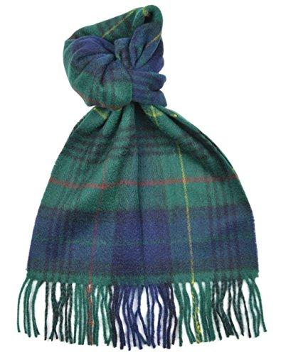 Stewart Hunting Modern Tartan (Lambswool Scottish Stewart Hunting Modern Tartan Clan Scarf Gift)