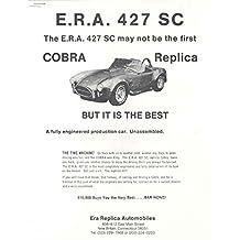 1967 1987 Ford Cobra 427 ERA Replica Kit Car Brochure