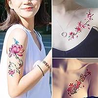 Xuniu Pegatinas para Tatuajes a Prueba de Agua, calcomanía ...