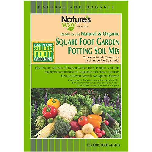 Soil Mix Gardening 1.5 cu. ft. Square Foot Gardening Potting