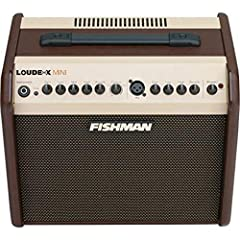 The new Loud box Mini delivers the tonal quality that has made the Fishman name the standard for great acoustic sound. Never before has Fishman offered our award-winning tone in a compact, lightweight, portable and inexpensive package. You'll...