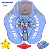 V Convey Upgrade 2nd Generation Baby Infant Soft Solid Non-Inflatable Float Lying Swimming Ring Children Waist Float Ring Floats Pool Toys Swim Trainer Classic Swim Ring