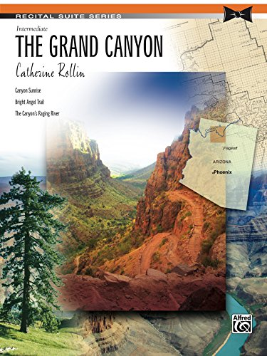 Canyon Sheet Music - The Grand Canyon: Piano Suite Sheet Music (Recital Suite Series)