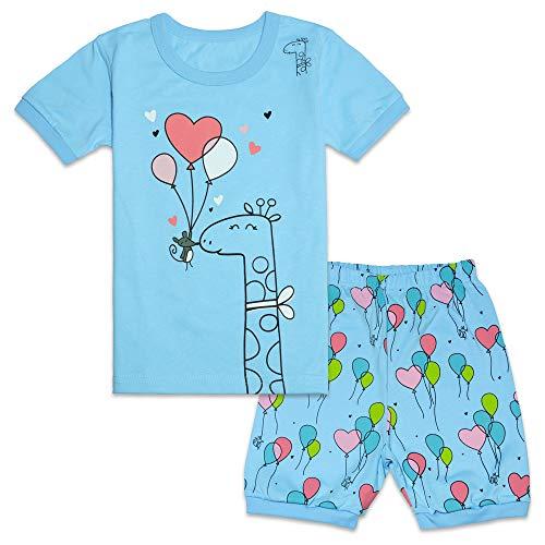 Tkala Fashion Christmas Girls Pajamas Children Clothes Set 100% Cotton Little Kids Pjs Sleepwear (6, 4-Pajamas)