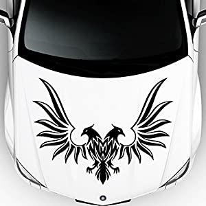 Amazoncom Car Decals Hood Decal Vinyl Sticker Eagle Predator - Best automobile graphics and patterns