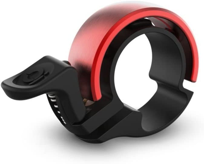 Knog Oi Classic - Timbre para bicicleta LIMITED EDITION Black/Red ...