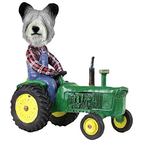 (Skye Terrier Tractor Doogie Collectible Figurine)