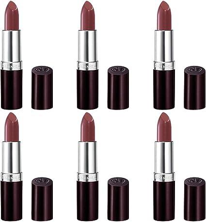 6 Pack) RIMMEL LONDON Lasting Finish Intense Wear Lipstick - Coffee Shimmer: Amazon.es: Belleza