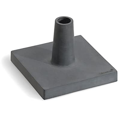 Blomus 65046 Torch Base, Polystone : Landscape Torch Lights : Garden & Outdoor