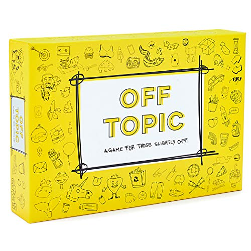 Off Topic Card Game - for Those Slightly Off (Best Group Party Games Adults)