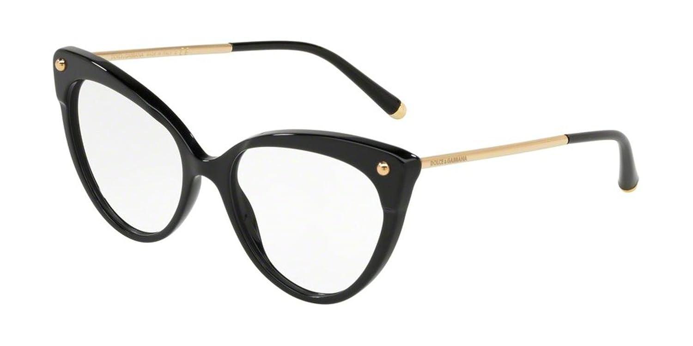 Dolce /& Gabbana LUCIA DG 3291 BLACK 52//17//140 women eyewear frame