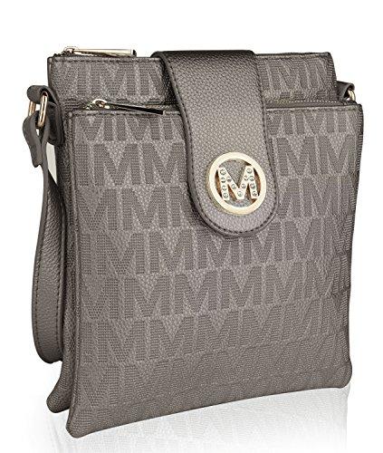 MKF Collection Marietta Milan M Signature Crossbody Bag by Mia K. Farrow - Mia Farrow Fashion