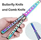 ENOKER Butterfly Knife and Comb Knife