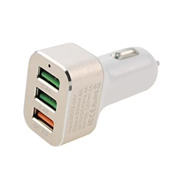 leelbox Car Charger with Two USB Ports and Skid 4 8 A